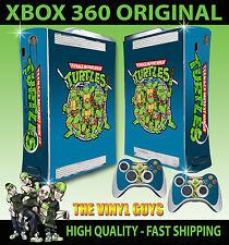 XBOX 360 CLASSIC Teenage Mutant Retrò Tartaruga 90'S STYLE Old Skool Adesivo SKIN