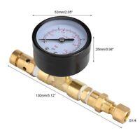 Ball Lock Adjustable Pressure Relief Valve  Gauge corny  Keg HomeBrew Kegging