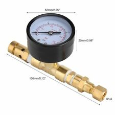 Ball Lock Adjustable Pressure Relief Valve  Gauge corny  Keg HomeBrew Kegging