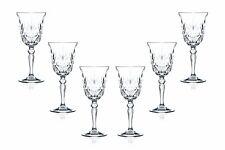 Melodia Water Stemmed Glasses 9.25 Oz, Crystal Cut Glassware Set of (6)