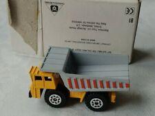 MATCHBOX LESNEY 1989 DUMP TRUCK 1-140 SCALE PRESERVED UNUSED ORIGINAL POST BOX