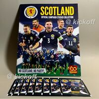 Panini SCOTLAND 2021: NEW Empty Album + 8 packets of official stickers FREE post