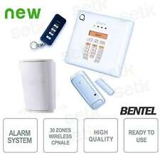 KIT antifurto wireless Bentel Security BW30-K2 NUOVA VERSIONE ALLARME CASA