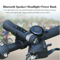 Multifunzionale Altoparlante Bluetooth + Torcia flashlight Lampada da bici