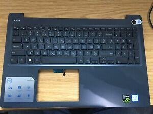 Dell G3 15-3579 Black Palmrest & US INTERNATIONAL Backlit Keyboard 0N4HJH (A37)