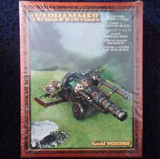SKAVEN WARP LIGHTNING CANNON 2001 caos ratmen Citadel Warhammer MIB de máquina de guerra