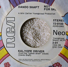 Dando Shaft Kalyope Driver DJ 45 Rare Progressive Folk Psych NM Edge Wrp OK Play