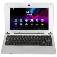 1088A Android 4.4 Notebook 10.1'' Laptop WSVGA WM8880 1GB 8GB WIFI Camera NEW