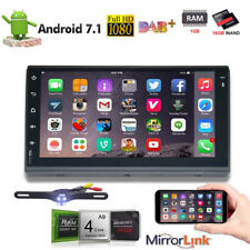 Car audio video radio player GPS Navigation System Android 7.1 Double 2 Din 7in.