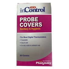 180x HEB Disposable Probe Covers Fits Most Digital Thermometers (6 Packs Of 30)