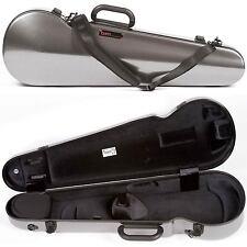 Bam France 2002XL Contoured Hightech Silver Carbon-Look 4/4 Violin Case