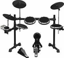 Behringer XD8USB 8-Piece Electronic Drum-set USB, sound samples, Kick Pedal NEW