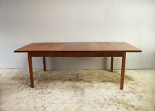 1960's Danish mid century extending dining table