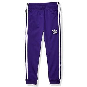 adidas Originals Kinder Superstar TP Track Pants Sporthose Trainings Hose Lila