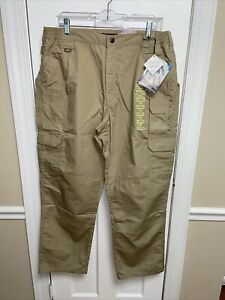 NEW 5.11 Tactical Series Men's Taclite Pro Khaki Pant Size 40x32 Actual 38x32