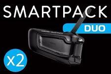 Cardo Scala Rider SmartPack Duo Motorcycle Bike Bluetooth Intercom Smart Pack