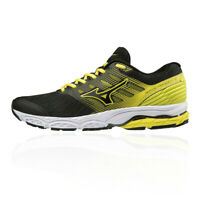 Mizuno Mens Wave Prodigy 2 Running Shoes Trainers Sneakers Black Yellow Sports