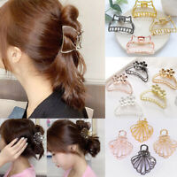2//3//4Pcs//Set Hairpin Hair Clip Imitation Pearl Alloy Rhinestone Vintage ^\