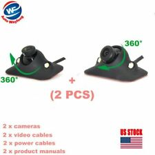 CCD night 360 Degree Car Front View Side View Camera 170° Viewing Angle