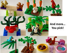 Lego Animals and Accessories YOU CHOOSE LOT Friends Jungle Kitten Cat Dog Puppy