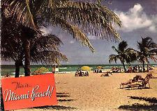 Miami Beach Florida Vintage 1940 Brochure Color Photos