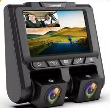 New listing Toguard Uber Dual Dash Cam Fhd 1080P+1080P Car Camera 340° Dashboard Dvr Camera