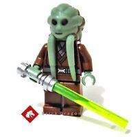 Lego Star Wars Kit Fisto Jedi Master minifigure from set 8088