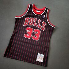 100% Authentic Scottie Pippen Mitchell Ness 95 96 Bulls Jersey Size 40 M Mens