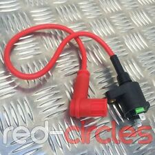 RCR ATV QUAD BIKE PERFORMANCE RACING IGNITION COIL & HT LEAD 50cc 70cc 110cc