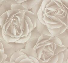 Vliestapete Rasch Crispy Paper Rose grau weiß 525601 (2,14€/1qm)