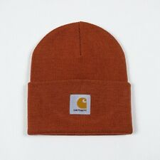 Carhartt Acrylic Watch Hat Beanie Brand New in One Size in Cinnamon Brown