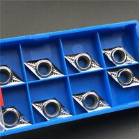 for Aluminum DCGT11T304-AK H01 DCGT32.51 Carbide inserts Cutter blade DCMT11T3