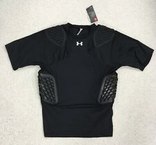 New! $65 Under Armour Gameday Padded Football Compression Shirt Top / Men's 3Xl