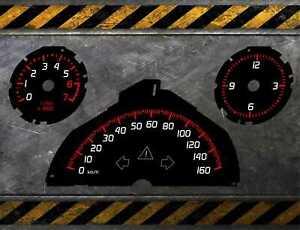 TACHOSCHEIBEN SMART 451 - BB DESIGN - 160 - 200 km/h - 451 FACELIFT