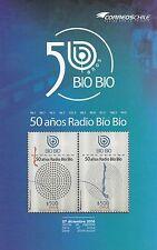 Chile 2016 Brochure 50 years Radio Bio Bio - no stamp