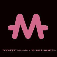M - EN TÊTE À TÊTE + DE L'AUBE À L'AURORE - 2 CD + 1 DVD - 2009 - NEUF NEW NEU