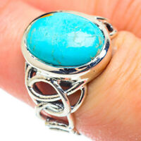 Larimar 925 Sterling Silver Ring Size 7.25 Ana Co Jewelry R51899F