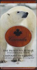 2004 Polar Bear Sterling Silver $2 Coin and Stamp Set - Sale