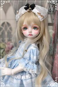 1/4 BJD DOLL YOSD Girl Boby 39cm Resin Ball Jointed Doll + Eyes + Face Make up