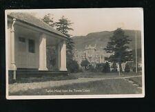Scotland Dunbartonshire Loch Lomond TARBET Hotel c1900/20s? RP PPC