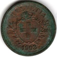 1903 B Switzerland 1 Rappen | Pennies2Pounds