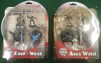 Crimson Skies Collectible Miniatures Game Ace Pack 1 East Meets West Aces Wild 3