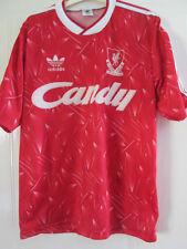 "Liverpool 1989-1991 Home Football Shirt Mans Adult 38""-40"" /37913 ynwa"