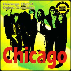 CHICAGO - Pack 8 Midi Files. Digital Download. Listen Demos. General Midi