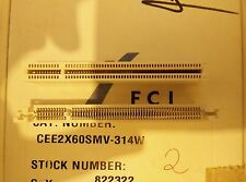2x FCI CEE2X60SMV-314W ,  CONNECTOR , NEW , see picture