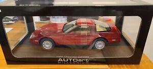 AUTOart 1/18 Chevrolet CORVETTE 1986 Coupe 71241 Auto Art Chevy