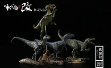 Nanmu 1/35 Raptorsquad Figure 4Pcs Velociraptors Dinosaur Animal Collector Toys