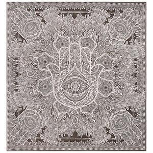 Indian Boho Bedspread Cotton Fatima Wall Hangings Queen Hamsa Tapestry Hippie