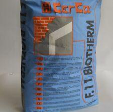 Colla,adesivo,rasante per pannelli isolanti  sacco kg. 25 F.11 Biotherm Cercol