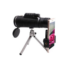 40X60 monocular telescope with compass with a tripod, you can use the phone
